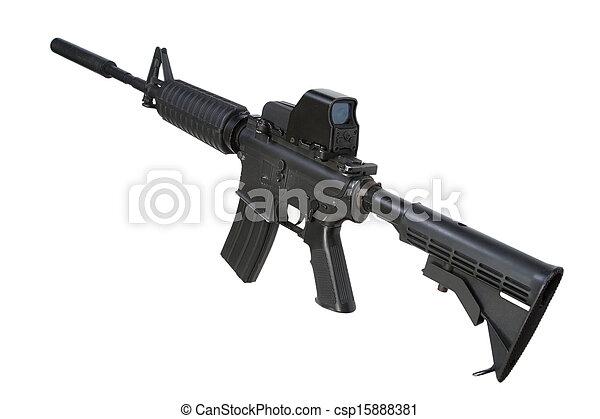 Carbine Silencer m4 Carbine With Silencer