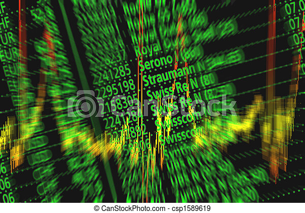 Symbol for shares and stock exchange - csp1589619
