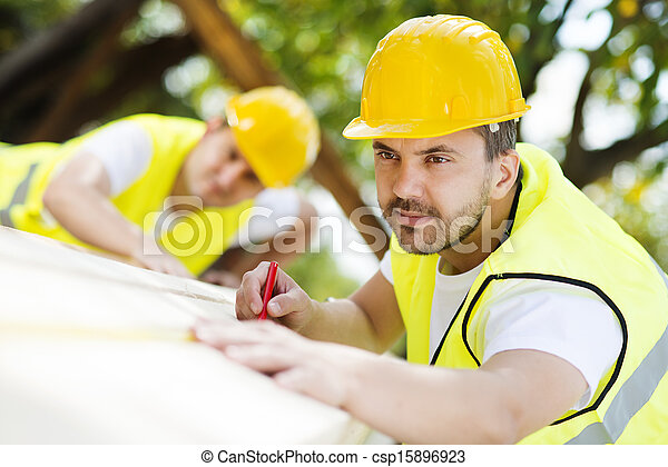 Trabalhadores, construção - csp15896923