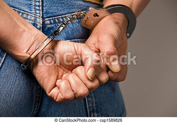Handcuffs - csp1589826