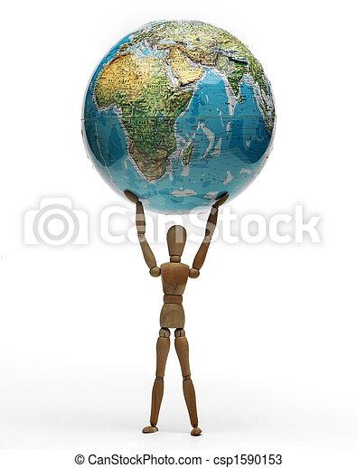 dummy that sustains the world - csp1590153