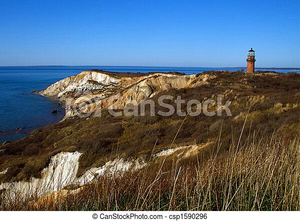 Martha\\\\\\\'s Vineyard Lighthouse - csp1590296