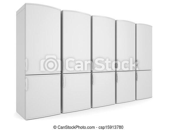 illustration blanc r frig rateurs banque d 39 illustrations illustrations libres de droits. Black Bedroom Furniture Sets. Home Design Ideas