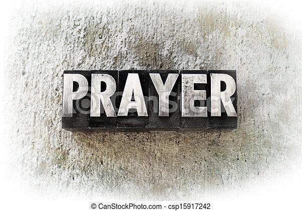 Prayer - csp15917242