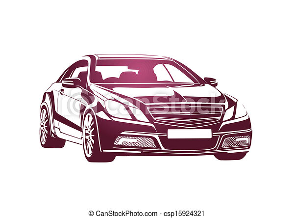 Pink automobile big boss - csp15924321