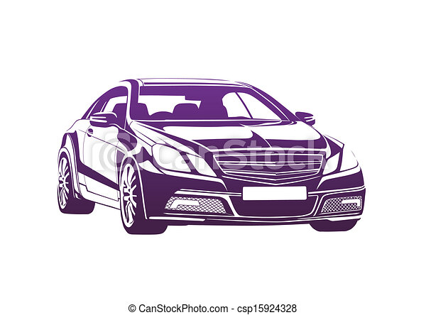 Purple automobile big boss - csp15924328