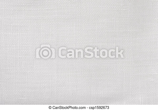 macro white linen background - csp1592673