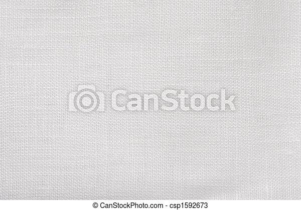 macro white linen background - csp1592673