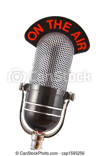 mikrofon,  retro - csp1593256