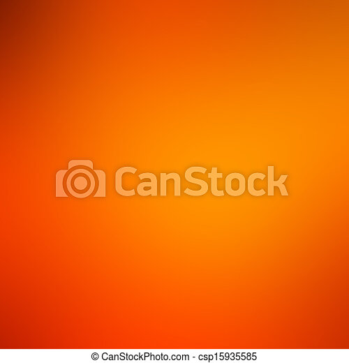 abstract blurred background, smooth gradient texture color, shiny bright background banner header or sidebar graphic art image, elegant rich surface orange gold background yellow wave splash design - csp15935585