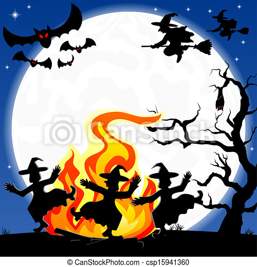 halloween - stock illustration, royalty free illustrations, stock clip ...