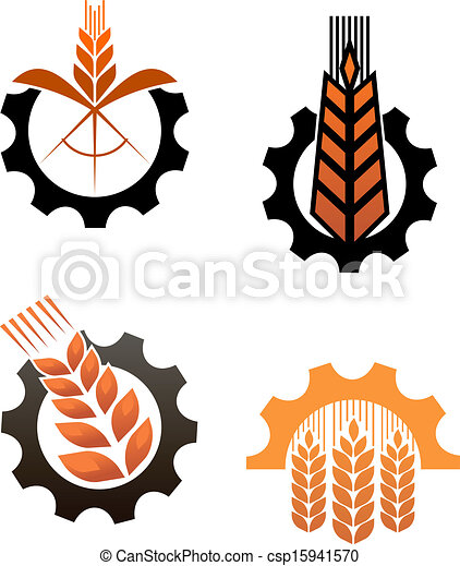 Agriculture icons and smbols - csp15941570