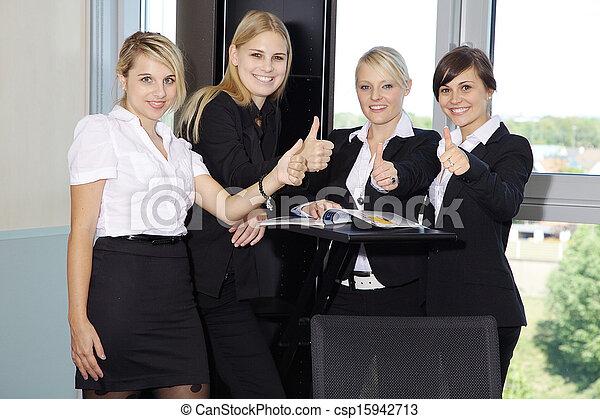 equipe affaires - csp15942713