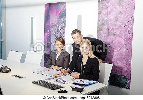 equipe affaires - csp15942808
