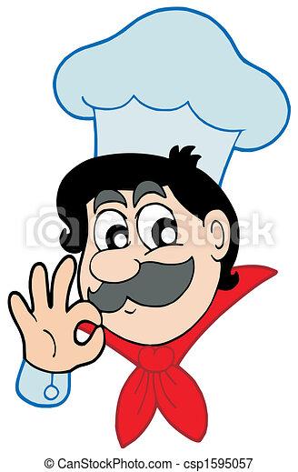 Happy chef - csp1595057