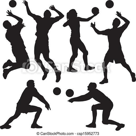 バレーボールの画像 p1_25
