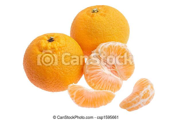 tangerine oranges - csp1595661