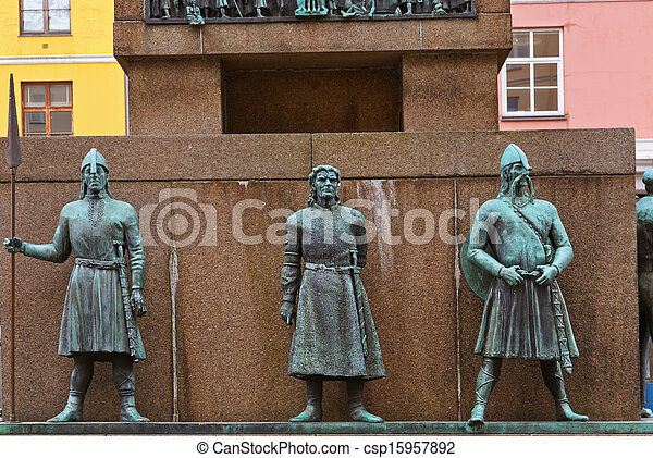 Sailors monument - Bergen Norway