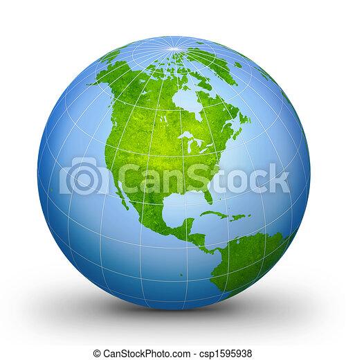 WorLd GloBe Geographic 2 - csp1595938