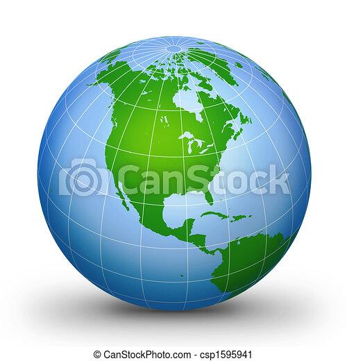 WorLd GloBe Geographic 2 - csp1595941
