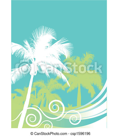 Palm tree  - csp1596196