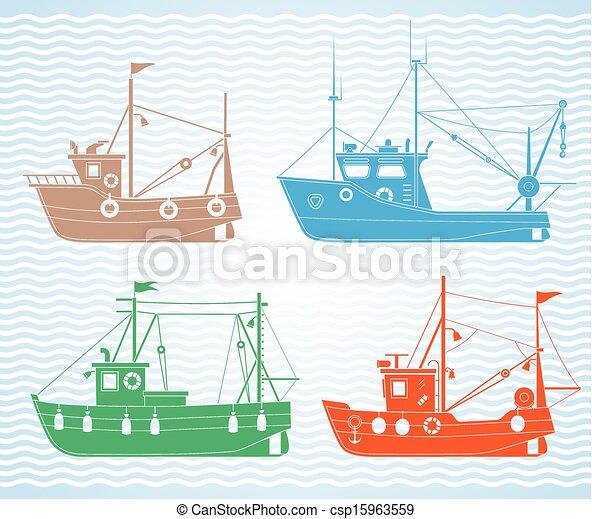 рыболовный траулер для крабов