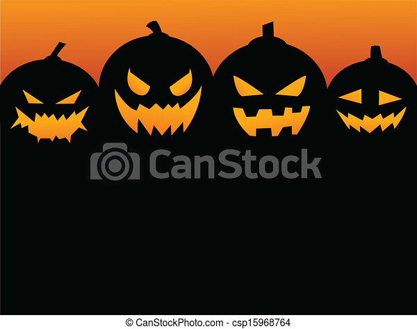 Halloween Party Background - csp15968764