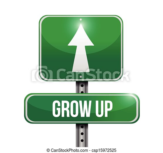 Grow up Vector Clipart Royalty Free. 16,945 Grow up clip art ...