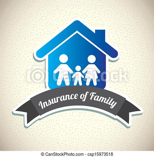 family insurance - csp15973518