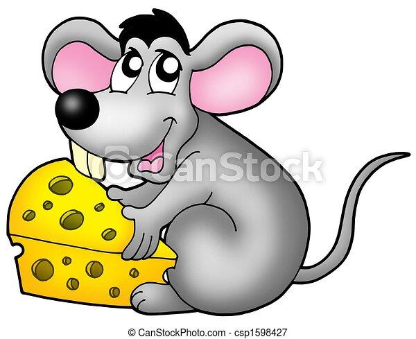 Raton dibujo color - Imagui