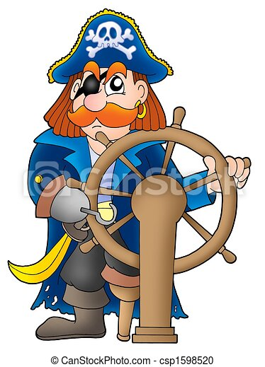 Pirate captain clipart - photo#11