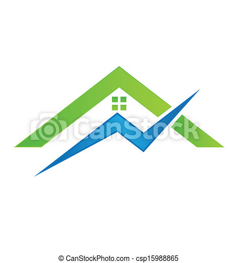 Clip Art Vector of Electrical House Logo Vector csp15988865 ...