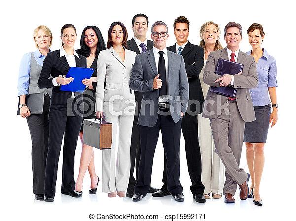 グループ, ビジネス, 人々 - csp15992171