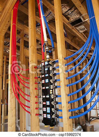 Image De Plomberie Pex Tubulure Pex Plumbing