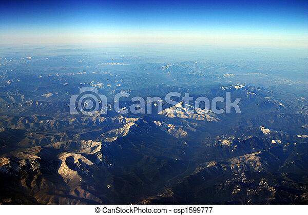 Siberia aerial - csp1599777