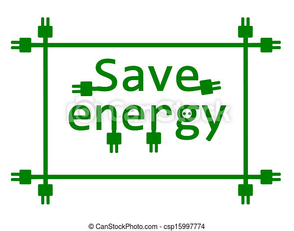 Clipart Energy Saving Save Energy Csp15997774