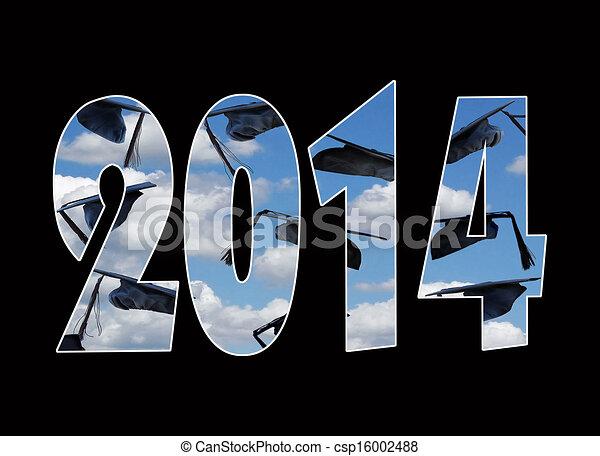 airborne graduation cap for 2014 - csp16002488