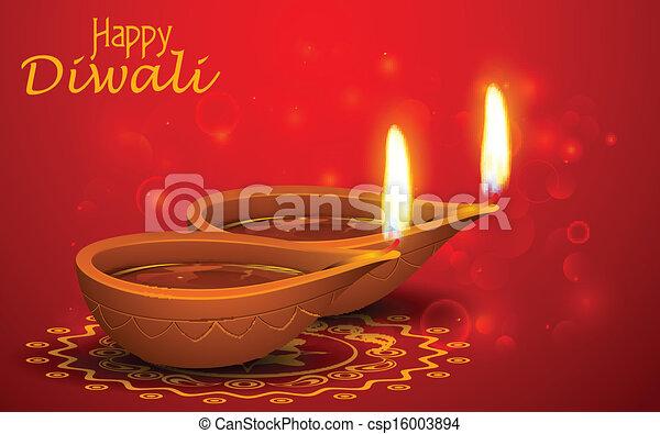 Diwali Holiday background - csp16003894