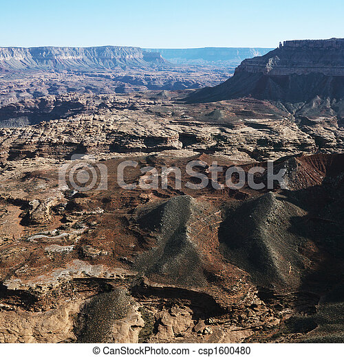峡谷, 壮大, 航空写真 - csp1600480