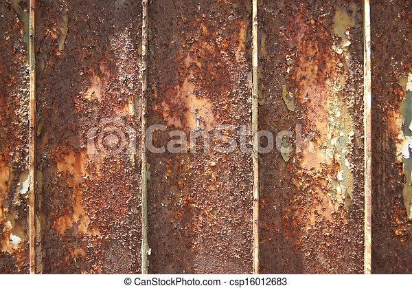 images de vieux fer porte texture vieux fer porte surface csp16012683 recherchez. Black Bedroom Furniture Sets. Home Design Ideas