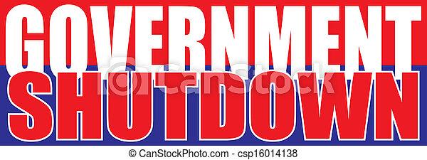 Government Shutdown - csp16014138