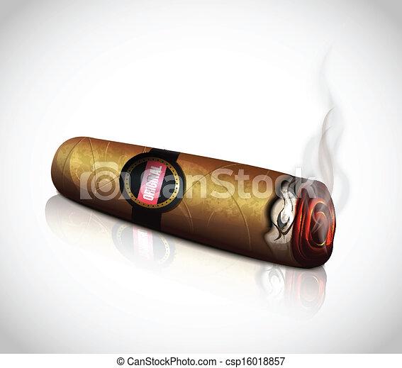 clipart vector of cigar csp16018857 search clip art cigar clipart cigar clip art images