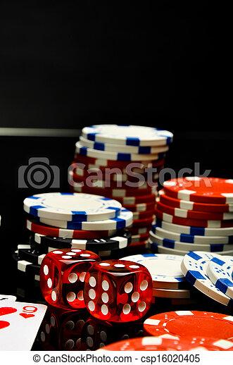 Casino, roulette, gambling games - csp16020405