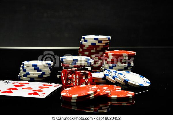 Casino, roulette, gambling games - csp16020452