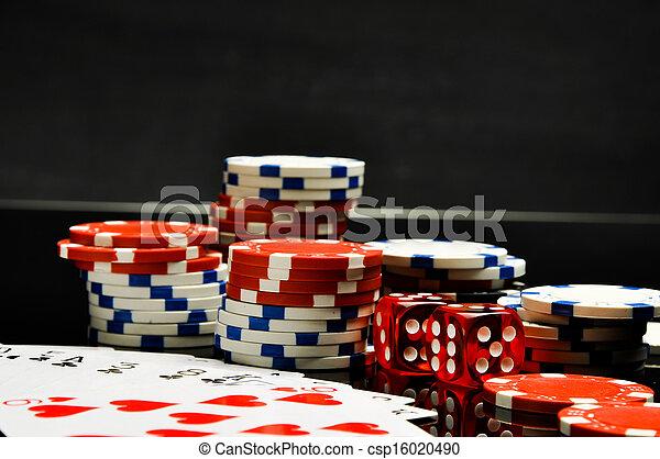 Casino, roulette, gambling games - csp16020490