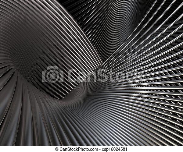 Futuristic brushed metal fantasy - csp16024581