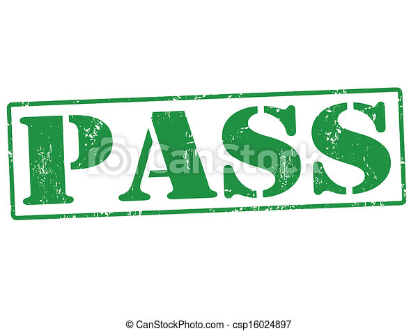 Pass stamp - csp16024897 Pass Stamp