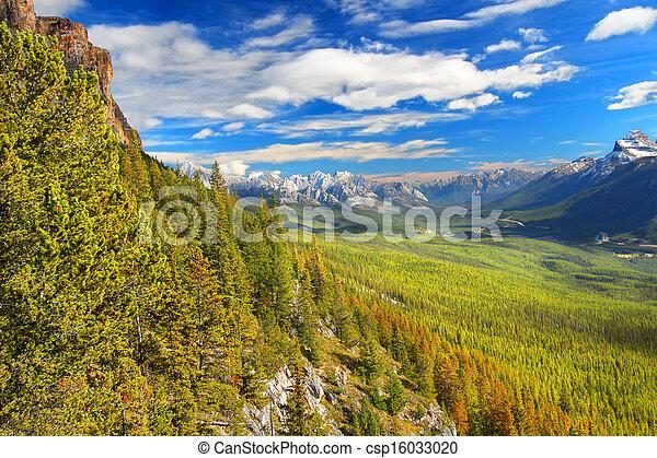 Castle Mountain Banff National Park - csp16033020