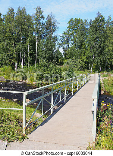 bridge over the river - csp16033044