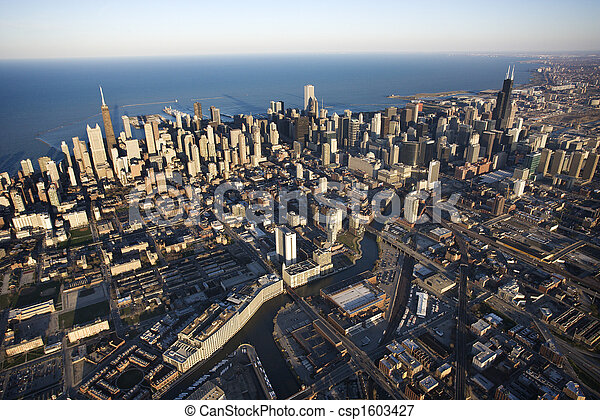 Chicago, Illinois. - csp1603427
